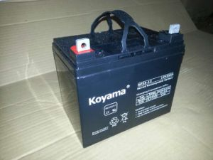 12V 33ah Lead Acid AGM Battery for Electric Wheelchair pictures & photos