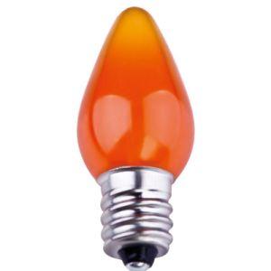 C7 Smooth LED Bulb - Orange