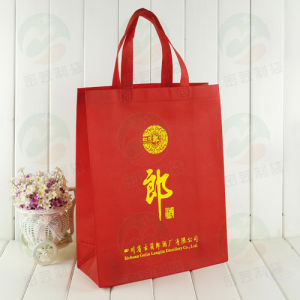 Auto-Formed Non Woven Bag Customised Design Promitional Packing Non Woven Bag (My-052)