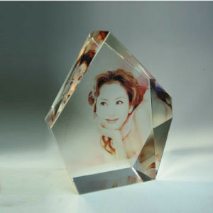 Crystal/Crystal Colour Painting Photo Frame (CP79)