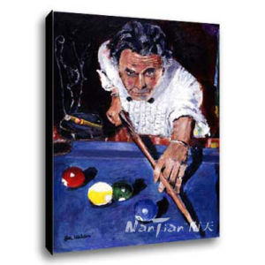 Sport Oil Painting (P268)