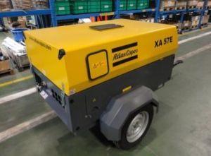 Atlas Copco Portable Screw Air Compressor (XA77E) 4.3m3/Min 7bar pictures & photos