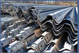 W Beam Hot Galvanized Highway Guardrail
