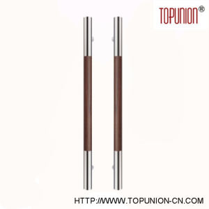 High Quality Stainless Steel Wooden Pull Handle (TU-104) pictures & photos