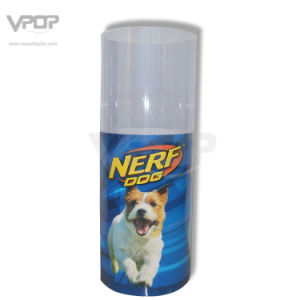 Nerf Dog Paper Round Dumb Bin with Clear PVC Shroud pictures & photos