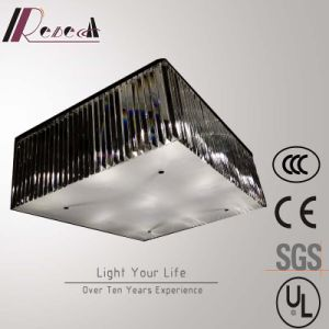 Chinese Supplier Living Room Rectangular Crystal Ceiling Lamp pictures & photos