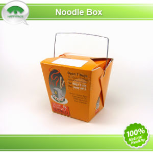 Noodle Box with Metal Handle pictures & photos