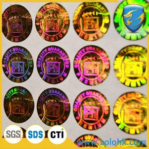 Good Price Customer Sticker Laser Printing Hologram Stickers