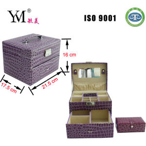 High Quality Fashion Vanity Box Cosmetic Case Box 2014 pictures & photos