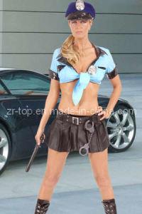 Sexy Police Costume (ZR-1666)