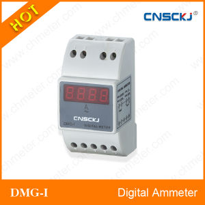 Dmg -Di DIN-Rail Type Digital DC Ammeter