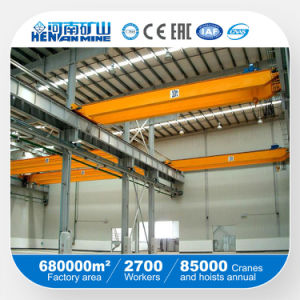 Double Beam Hoist Trolley Travelling Overhead Crane pictures & photos