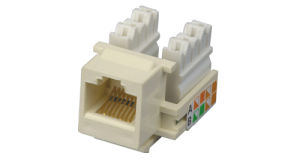 Keystone Jack- RJ45 Jack- Cat5e Jack- CAT6 Jack pictures & photos