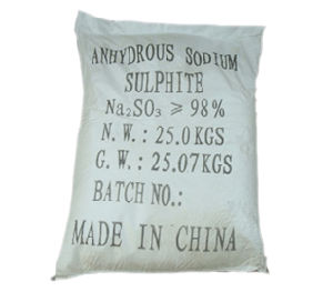 Sodium Sulfite Anhydrous 96% pictures & photos