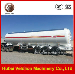 56m3/56cbm/56000L/56000liters Propane Tri-Axle LPG Tank Semi Trailer pictures & photos