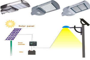 Energy Saving 60W 65W Solar Street Lights with UL Dlc Certificate pictures & photos