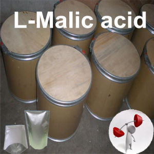 Foodstuff Vegetable and Fruit 99% Food Flavor L-Malic Acid (97-67-6) pictures & photos