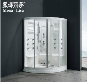 2 Seats Acrylic Steam Shower Room Cabin Infrared Sauna pictures & photos