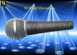 Professional Karaoke Wired Microphone (S8) pictures & photos