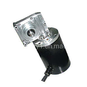 Worm DC Gear Motor (90ZYT-WOG-Q) pictures & photos