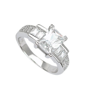 925 Silver Jewelry Ring (210786) Weight 4.9g