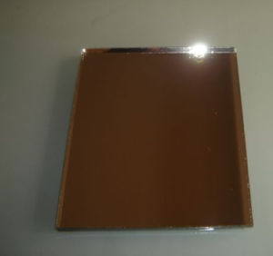 3mm, 4mm, 5mm, 6mm Bronze Silver Glass Mirror /Tinted Glass Mirror with ISO and CE
