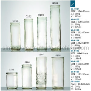 Candle Jar / Candle Holder / Candle Bottle (W-0101~W-0108) pictures & photos