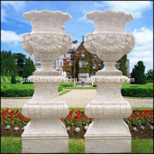 Garden Urn, Marble Urn, Stone Urn (GS-FL-007) pictures & photos