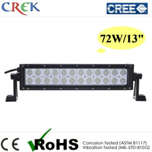 CREE 72W LED Light Bar 13inch Dual Row LED Light Bar (CK-BC21203B)