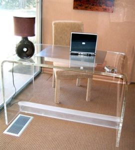 Acrylic Computer Laptop Desk (VJH-0912001)