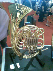 4-Key Double French Horn (HFL-642. F/Bb Tone, Gold Lacquer)