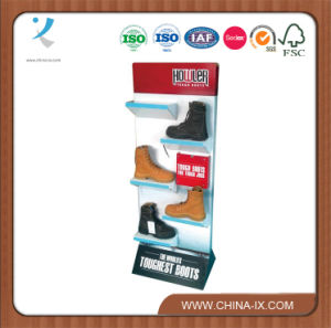 Floor Metal Shoes Racks Shoes Retail Display pictures & photos