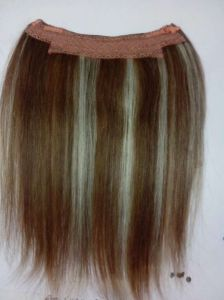 100% Human Remy Hair Invisible Hair Extensions pictures & photos