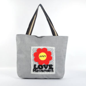 Flower Canvas Bag (B14812) pictures & photos