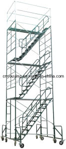 "Steel Mason Frame Stair Tower Scaffold 60""Wx84""Lx250""H Scaffolding"