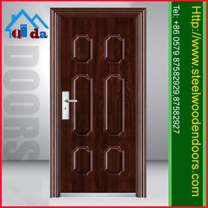 Hot Sale Cheap Metal Door Designs (QD-SD009)