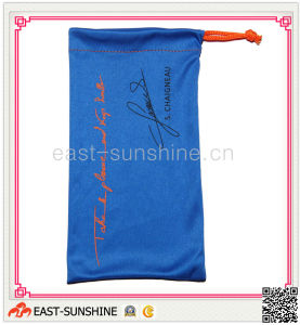 Soft Touch, Sunglasses Pouch, Microfibr Drawstring Bag for Sunglass, Glasses, Eyewear pictures & photos