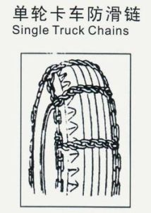 Electro Galvanized Truck Tire Protection Chain pictures & photos