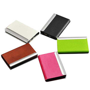 Name Card Power Bank with Business Card Holder pictures & photos