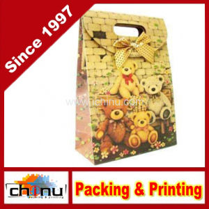 Custom Printed Cute Gift Paper Bag (3219) pictures & photos
