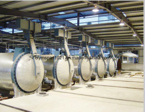 AAC Vacuum Autoclave for Hollow Block Brick Plant