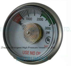 Medical Oxygen Pressure Gauge pictures & photos