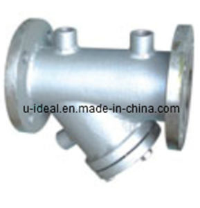 Y Type Jacketed Strainer, Y-Jacke Filter, Strainers, , Wye Strainer pictures & photos