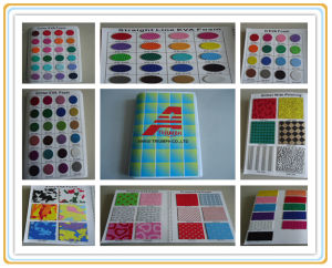 Elastic EVA Sheets for School Education Crafts pictures & photos