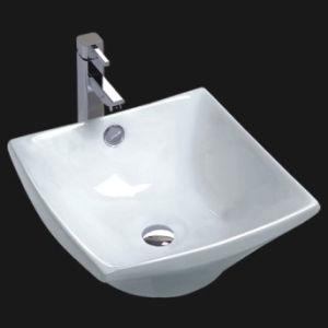 Classical Bathroom Ceramicl Cupc Washbasin (6062) pictures & photos