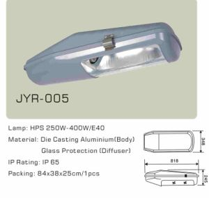 250W/400W Sodium Lamp Street Road Light Jyr-005 pictures & photos