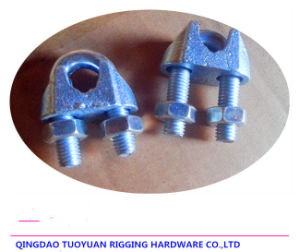 Zinc Plated Malleable Iron Wire Rope Clip pictures & photos