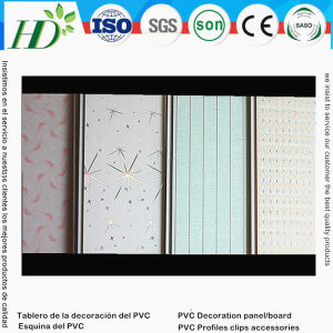 Normal Printing PVC Ceiling Panel for Interior Decoration (RN-64) pictures & photos