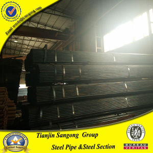 Schedule 40 Black Carbon Steel Pipe Price pictures & photos