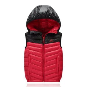 Fashion Light Vest Winter Warmer Feather Coat Cloth Down Jacket
